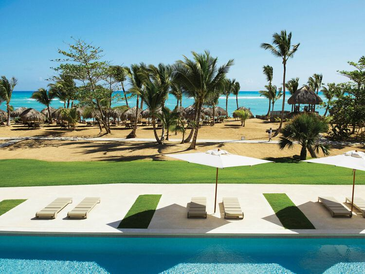 Beach at Excellence El Carmen Resort in Punta Cana